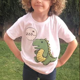 camiseta dinosaurio t-shirt rex