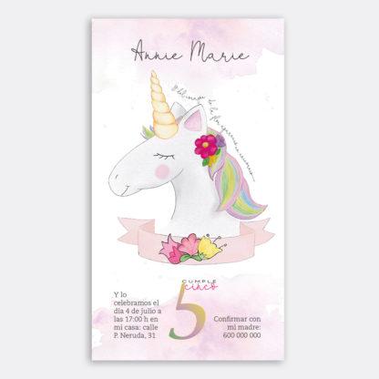 unicornio cumpleaños