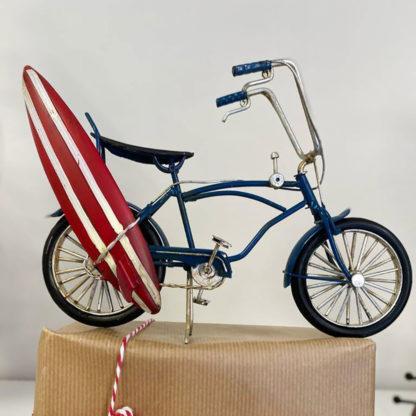 bici decorativa surf