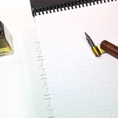 block para caligrafía